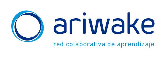 ariwake red colaborativa de aprendizaje logotipo